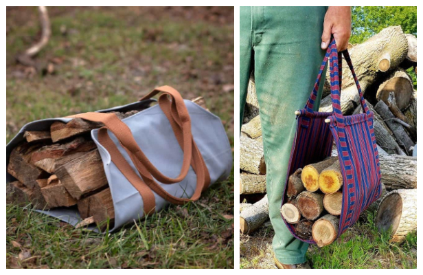 DIY Firewood Carrier Free Sewing Patterns
