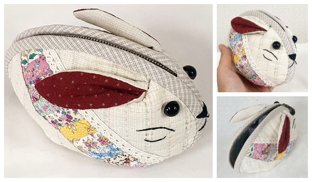 DIY Quilt Mouse Pouch Free Sewing Pattern + Video