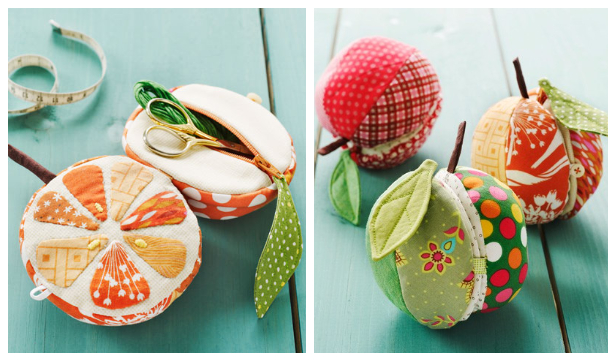 Apples to Oranges Fruit Sewing Kit Sewing Pattern