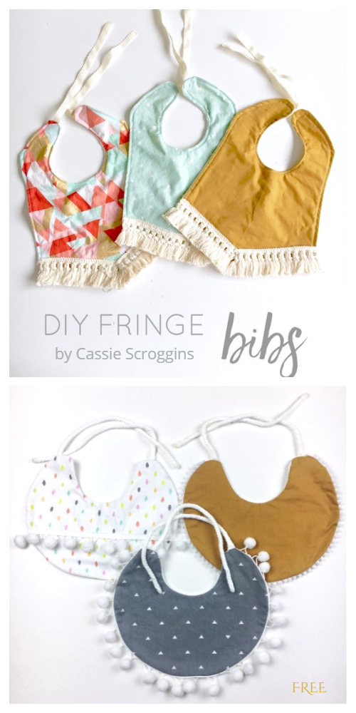 Baby Girl Drool Ribs Free Sewing Patterns