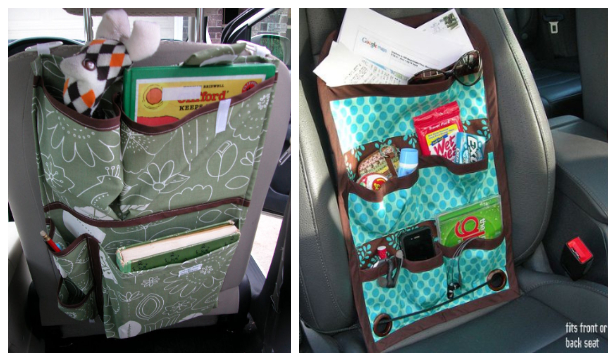 DIY Fabric Car Organizer Free Sewing Patterns