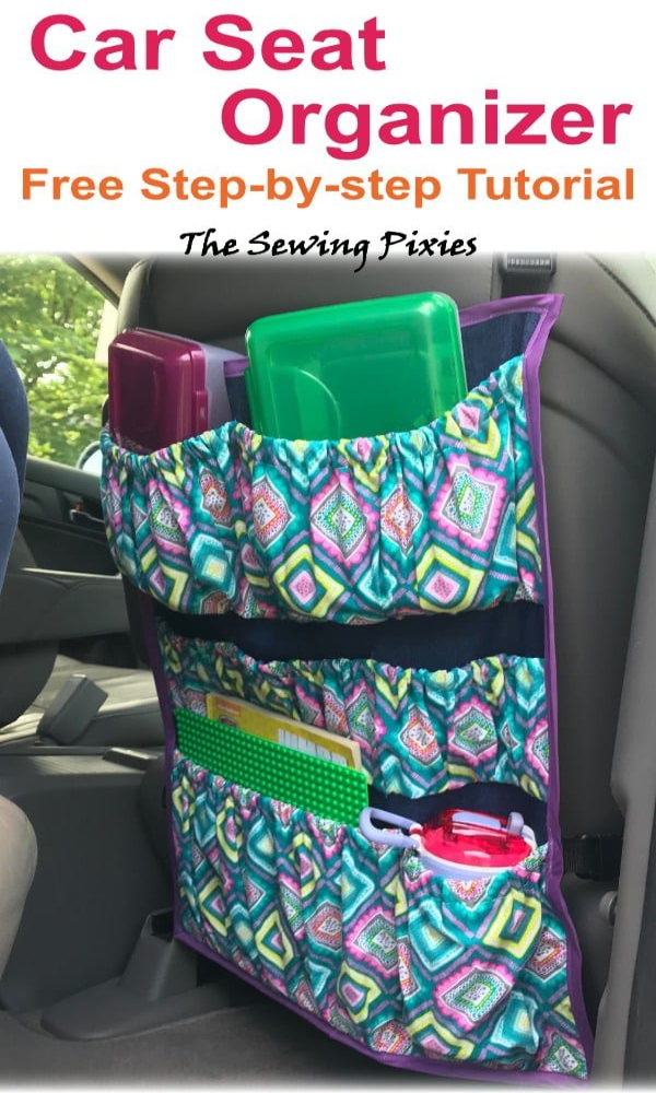 How to Sew a Fabric Car Organizer Free Sewing Patterns