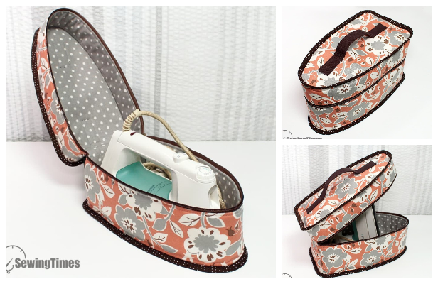 DIY Fabric Iron Storage Case Free Sewing Pattern + Video