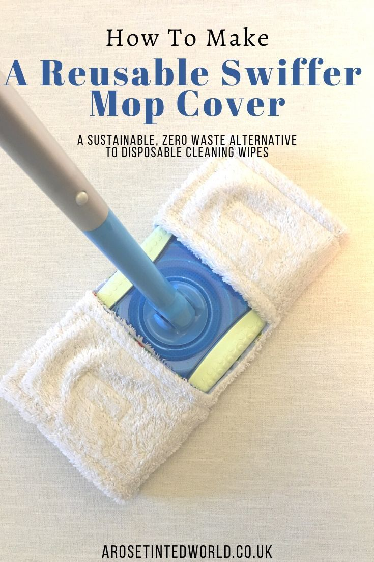 DIY Reusable Swiffer Mop Cover Free Sewing Pattern