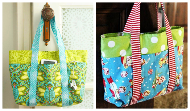 DIY Pick-A-Pocket Purse Free Sewing Pattern + Video