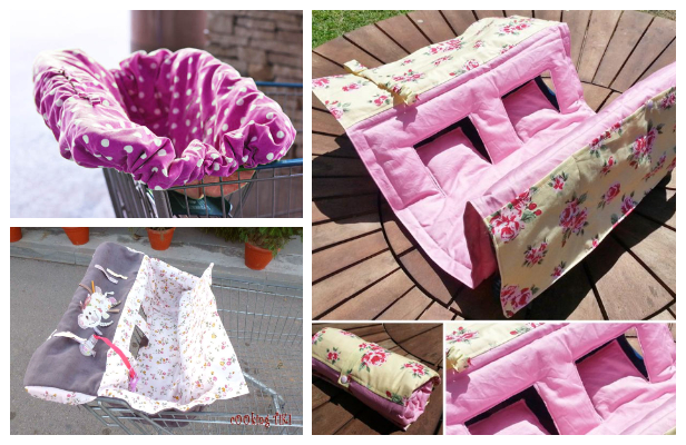 DIY Fabric Shopping Cart Seat Cover Free Sewing Patterns