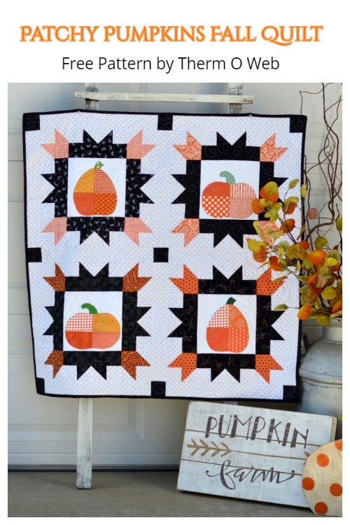 Patchwork Pumpkin Quilt Free Sewing Pattern