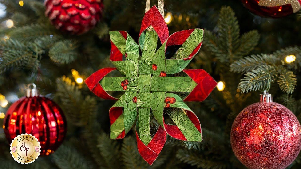 DIY Christmas Scandinavian Star Ornament DIY Tutorials+ Video