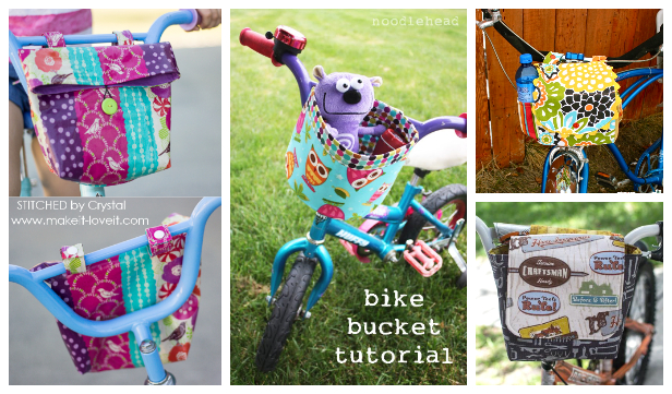 DIY Little Bike Messenger Bag Free Sewing Pattern
