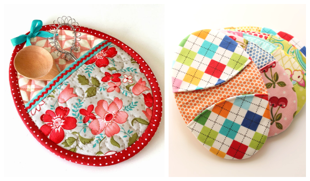 Easter Egg Pot Holder Free Sewing Patterns & Paid