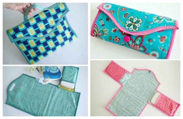 DIY Fabric Baby Changing Mat Free Sewing Patterns