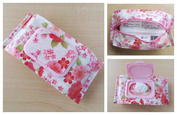 DIY Fabric Baby Wipe Case Free Sewing Pattern
