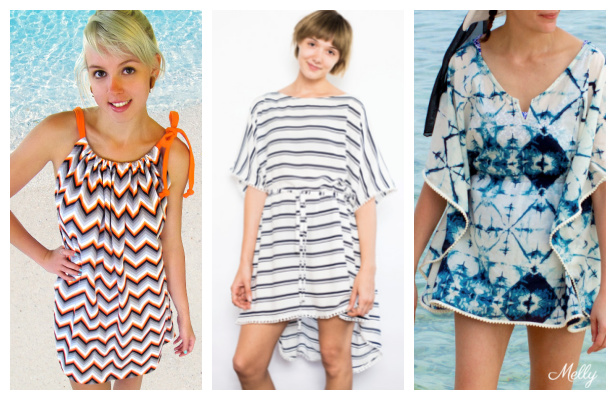 DIY Fabric Beach Cover Free Sewing Patterns f