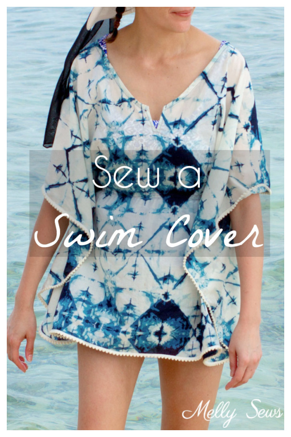 DIY Fabric Beach Cover Up Free Sewing Patterns