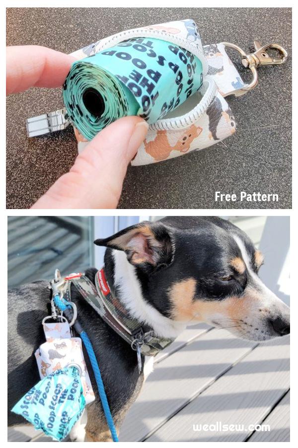 DIY Dog Waste Bag Holder Free Sewing Patterns