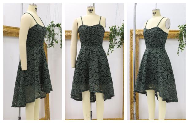 DIY Lace Elderberry Dress Free Sewing Pattern