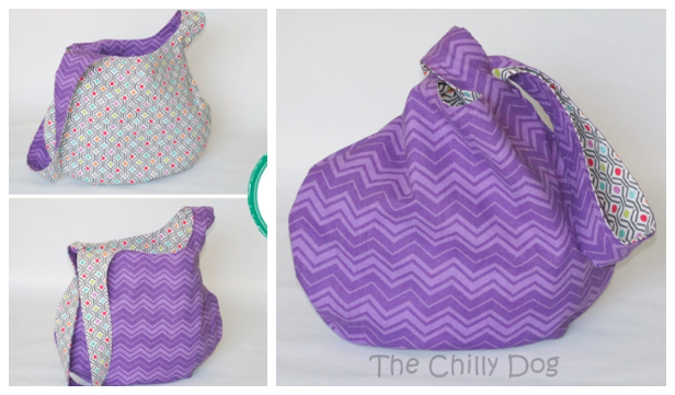DIY Fabric Japanese Knot Bag Free Sewing Patterns