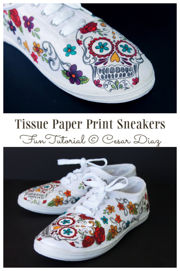 How to Customize Tissue Paper Print White Canvas