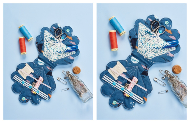 DIY Fabric Shell Sewing Kit Free Sewing Pattern