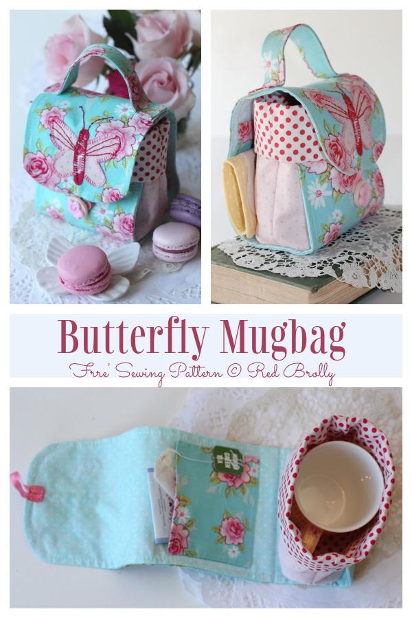 Butterfly Mugbag Free Sewing Pattern f1