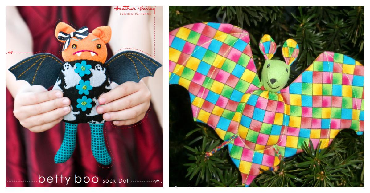 DIY Fabric Bat Plush Free Sewing Patterns